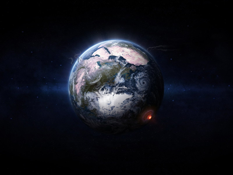 Северный магнитный полюс Земли ускорил своё движение к России